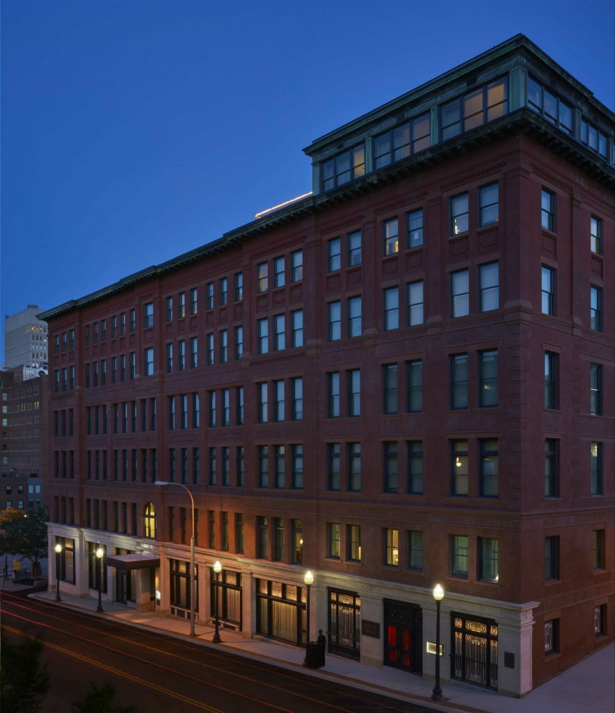 33e3155c The historic Savoy Hotel and Grill building has been transformed into 21c Kansas  City — museum, boutique hotel, and chef-driven restaurant, nestled between  ...